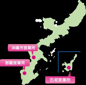 フジレンタカー 営業所マップ