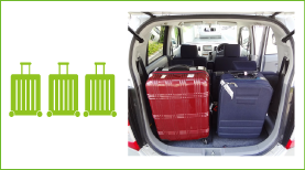トランク搭載スーツケース目安